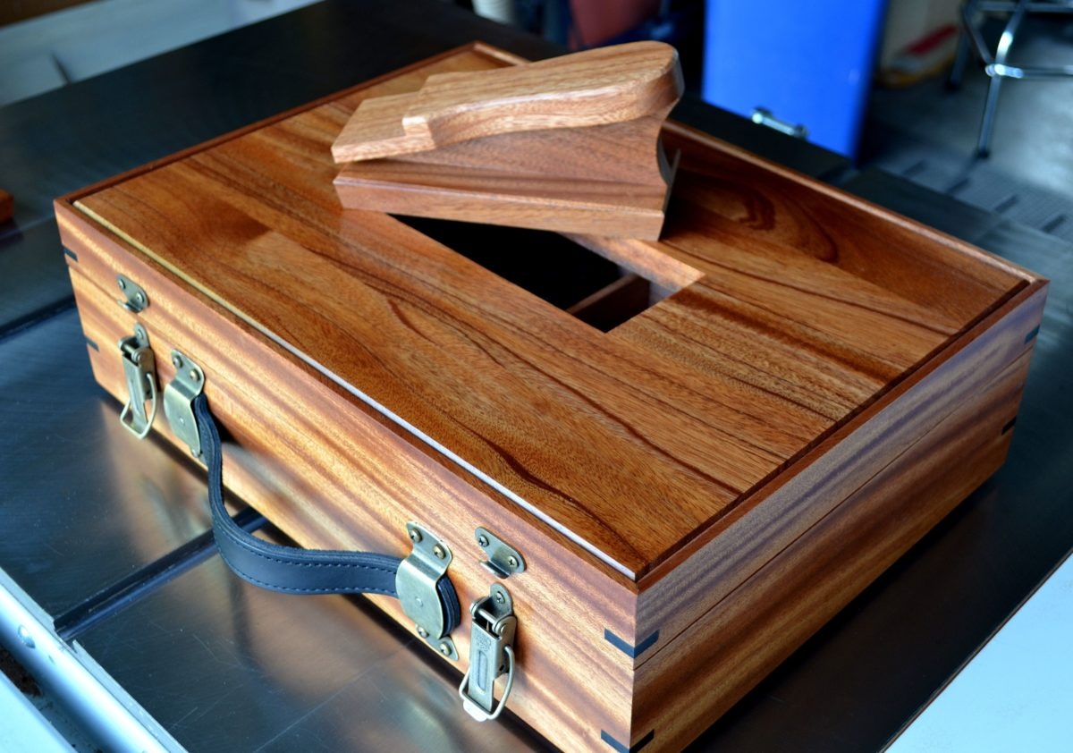 shoe shine box finewoodworking