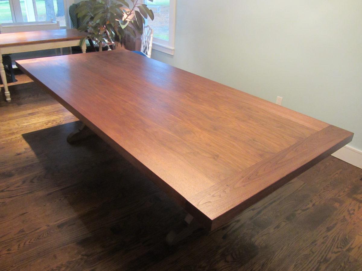 9\' X 4\' Walnut Dining Room Table - FineWoodworking