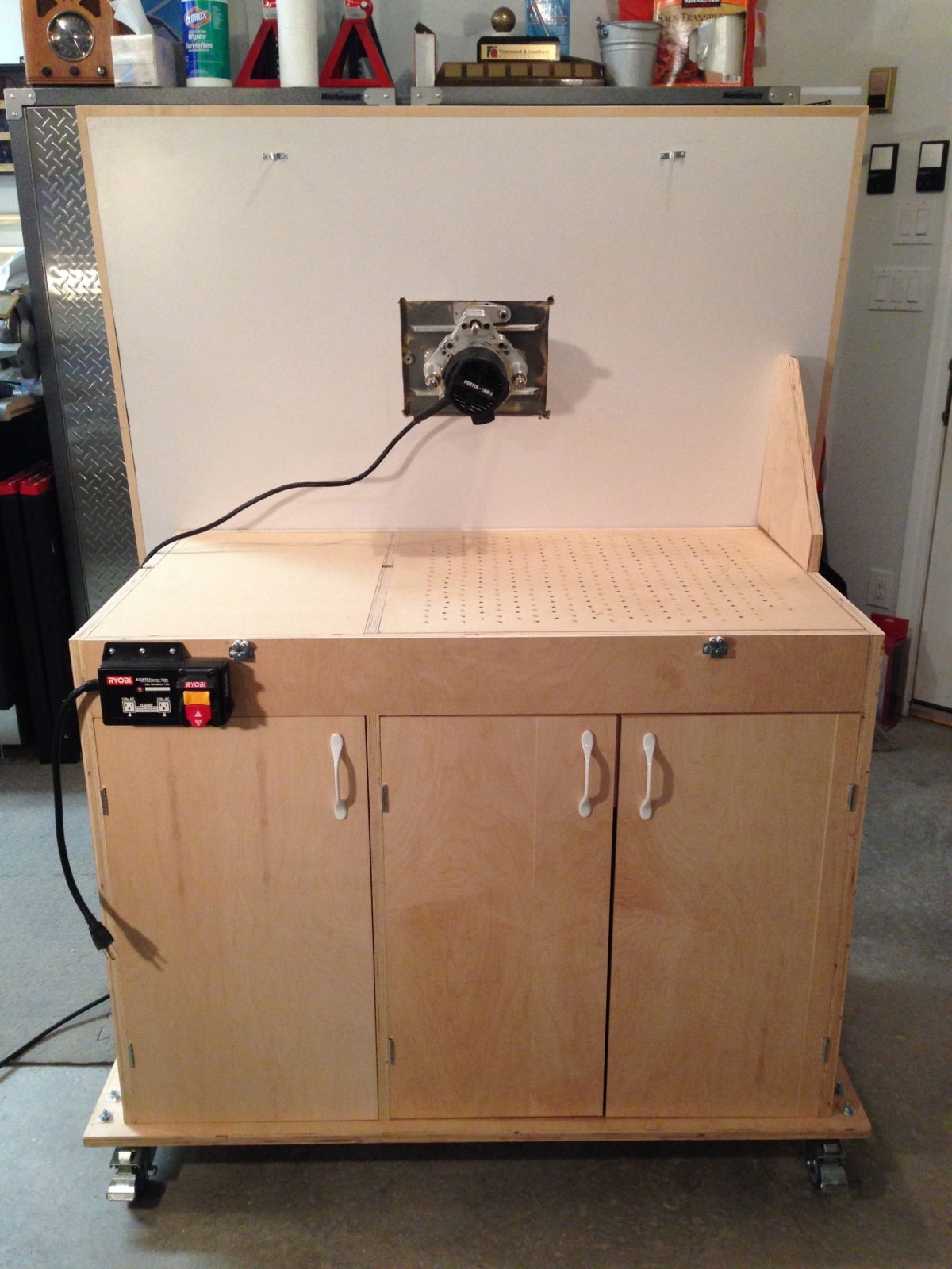 Router Downdraft Sanding Table Finewoodworking