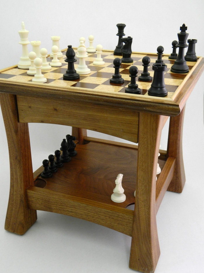 Chess Table Finewoodworking