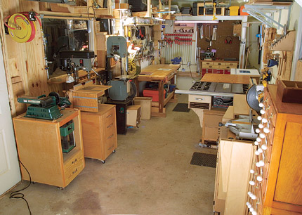 We want to see your shop finewoodworking for Shop design plans