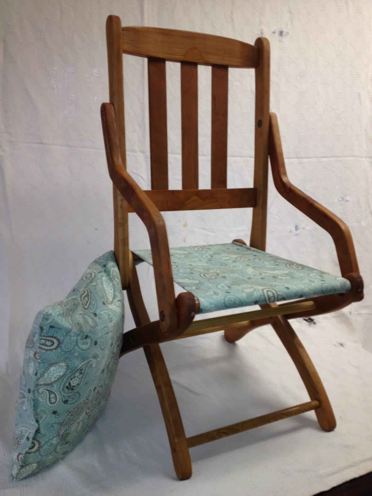 Civil War Officer S Replica Folding Chair Finewoodworking