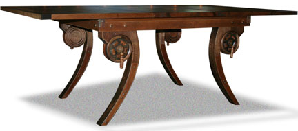 Quot Steampunk Quot Dining Table Finewoodworking