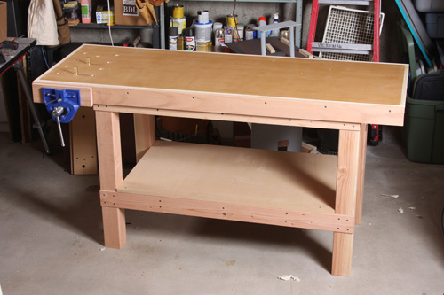 A Basic Woodworking Bench That S Quick To Make Finewoodworking