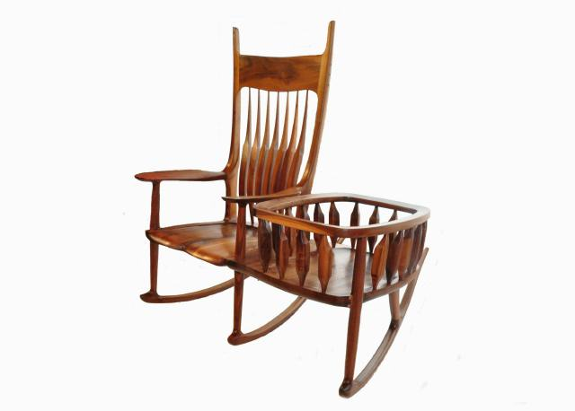 I Wanted A Rocking Chair That The Cradle Could Be Removed From After The  Child Did Not Fit The Cradle. Also The Rocker With The Cradle Attached Is  Very Hard ...