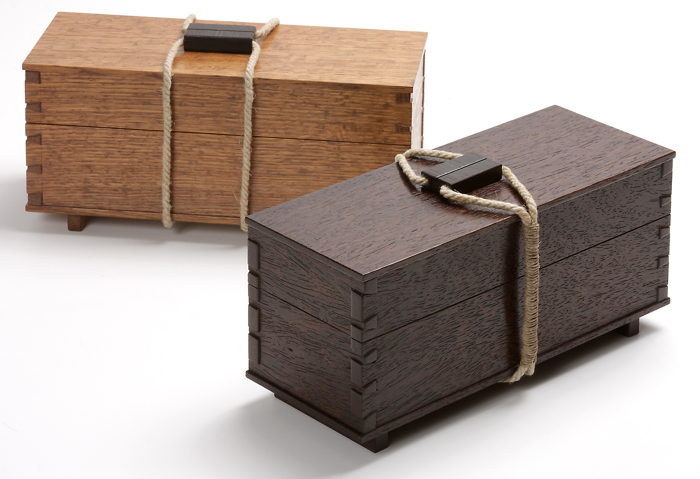 Design journal: A tea box gets a face lift - FineWoodworking