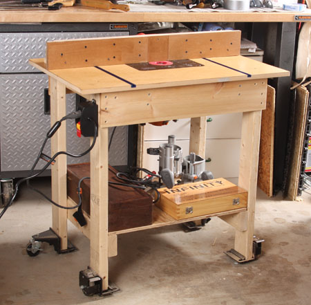 Big router table on a budget finewoodworking greentooth Image collections