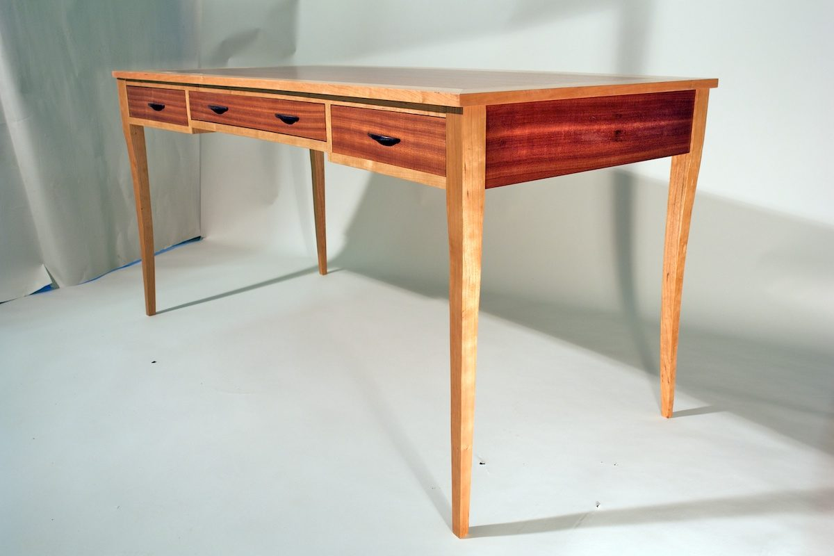 Mahogany Writing Desk Finewoodworking