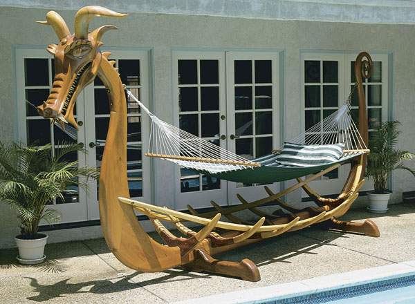 teak hammock ibiza i furniture plato outdoor reclaimed rico stand
