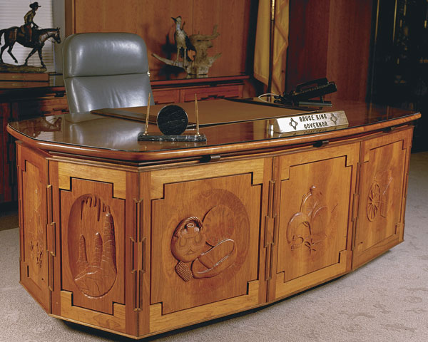 Executive Desk Finewoodworking