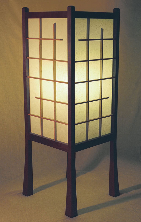 Japanese Style Floor Lamp Finewoodworking