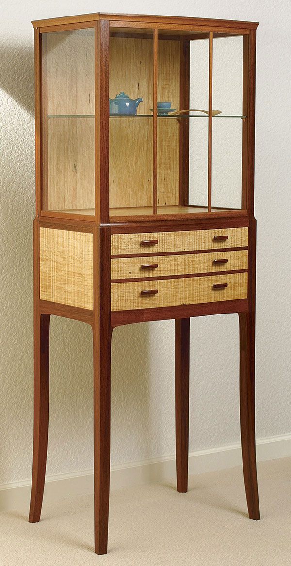Display Cabinet Finewoodworking