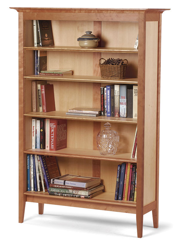 Frame-and-Panel Bookcase - FineWoodworking