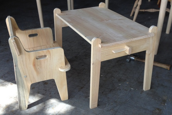Shortening A Quot Take Apart Quot Child S Table Finewoodworking