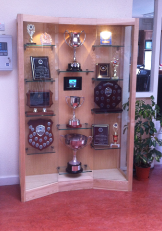 Trophy Display Cabinet - FineWoodworking