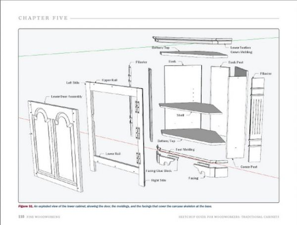 Sketchup Cabinet Plans | MF Cabinets