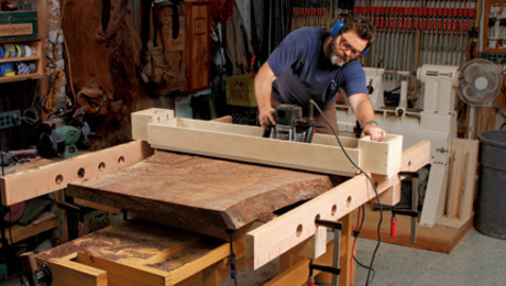 Nick Offerman Fine Woodworking Jig