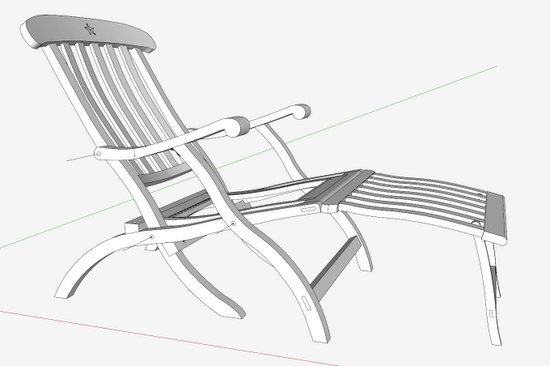 Folding the Deck Chair - FineWoodworking