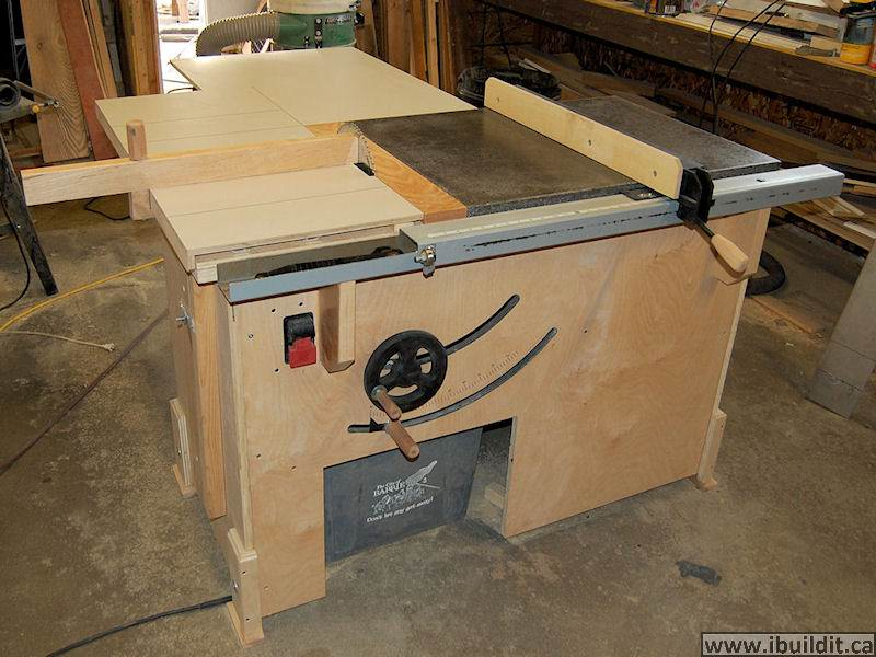 Adventures in building a tablesaw finewoodworking for Diy portable router table