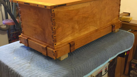 Attractive My Version Of The Greene And Greene Blanket Chest