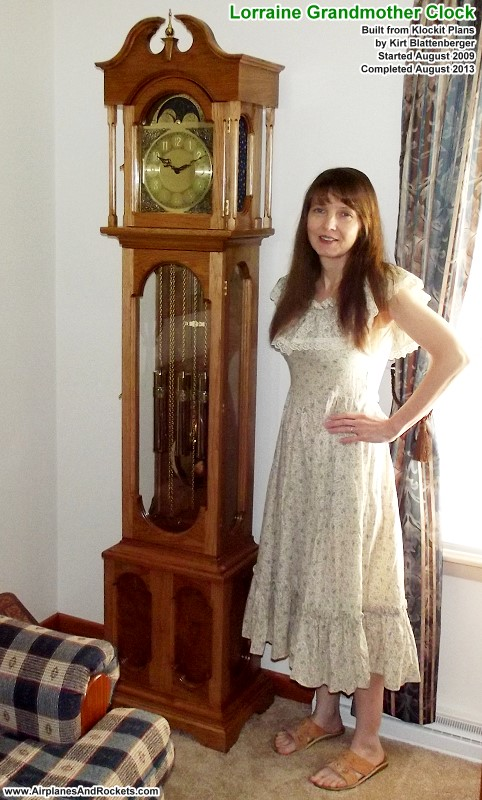 Lorraine Grandmother Clock Finewoodworking