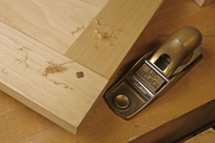 Reinforce Mortise And Tenon Joinery With Square Pegs