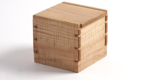 Dovetailed Salt Box