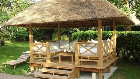 Wooden Gazebos Adding Style To Your Garden Finewoodworking