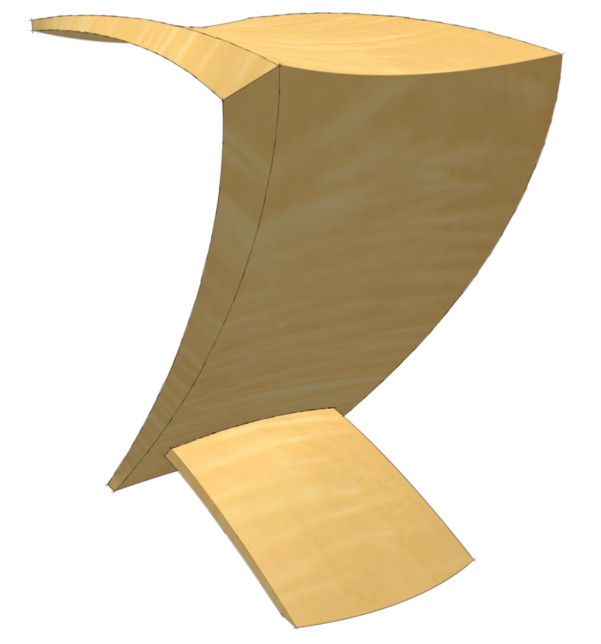 Curved Surfaces in SketchUp - FineWoodworking