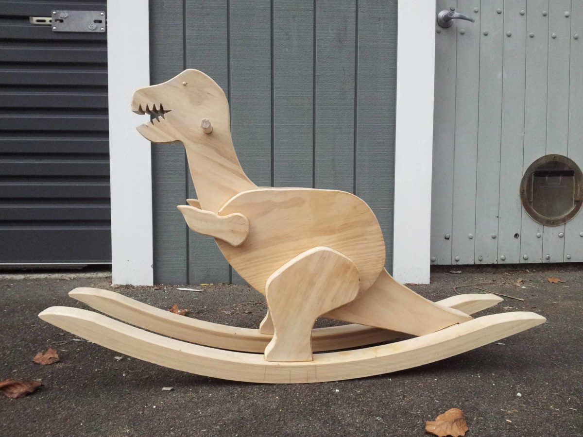Rocking Dinosaur Finewoodworking