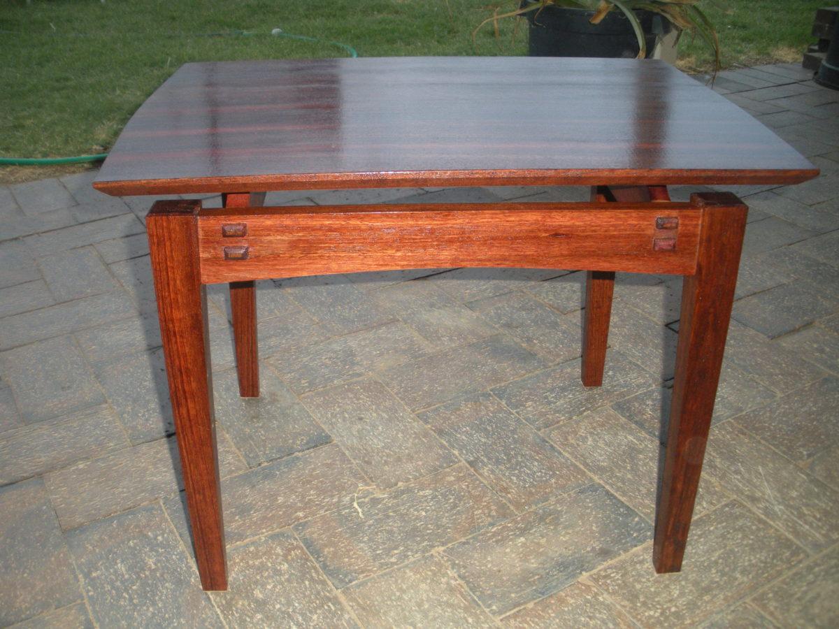Fine Woodworking End Table Plans: Australian Jarrah (hallway
