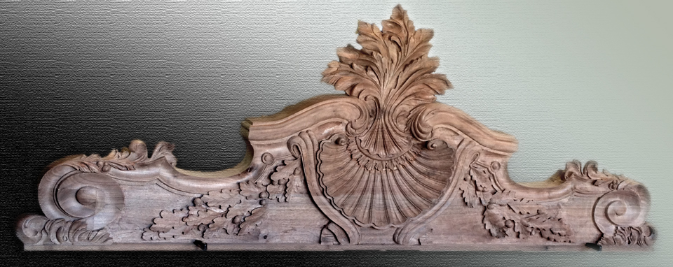 Hand Carved Headboard by Alexander Grabovetskiy - FineWoodworking