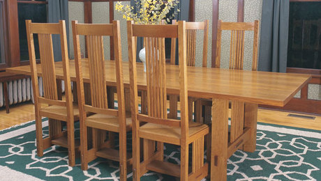 Stickley Style Dining Chairs