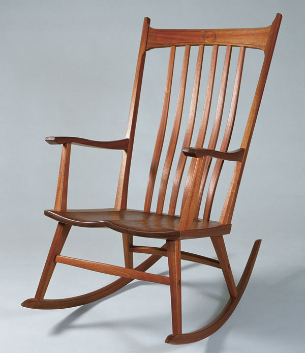 windsor style rocking chair finewoodworking