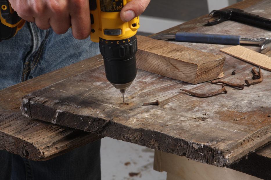 Reclaimed wood: Nail removing tips - FineWoodworking