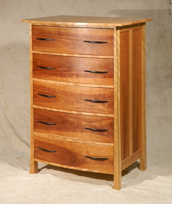 Bow-front dresser - FineWoodworking