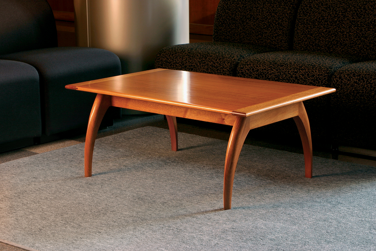 Free Plan Mahogany Coffee Table Finewoodworking