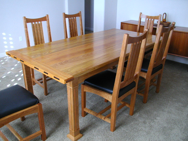 Arts & Crafts Dining Table - FineWoodworking