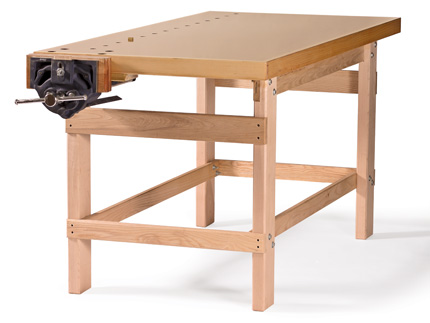 How To Build Your First Workbench Finewoodworking