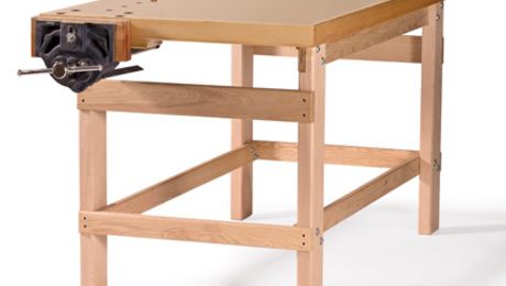 Cool How To Build Your First Workbench Finewoodworking Creativecarmelina Interior Chair Design Creativecarmelinacom