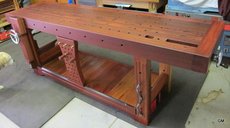 An Australian Roubo Workbench Finewoodworking