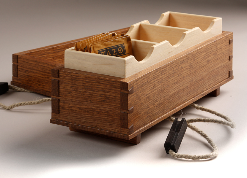 Rope Handle Spices Up A Tea Box Finewoodworking