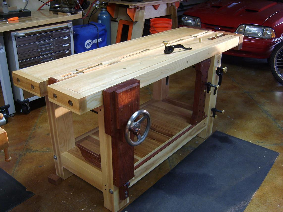 Split Top Roubo Bench - FineWoodworking