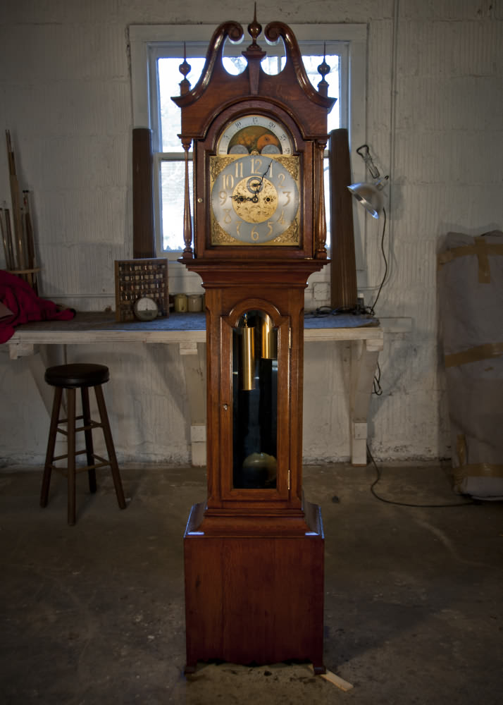 The Grandfather Clock Finewoodworking