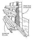Free Plan: Overhead Lumber Rack - FineWoodworking