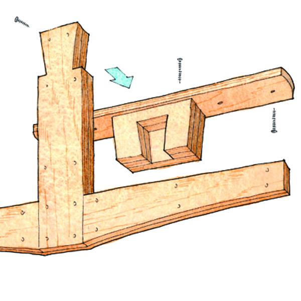 Free Plan Overhead Lumber Rack Finewoodworking
