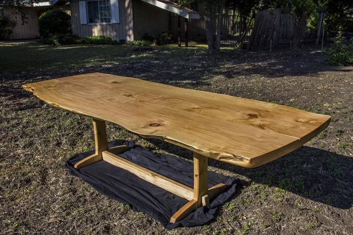 Golden Gate Park Cypress Dining Table Finewoodworking