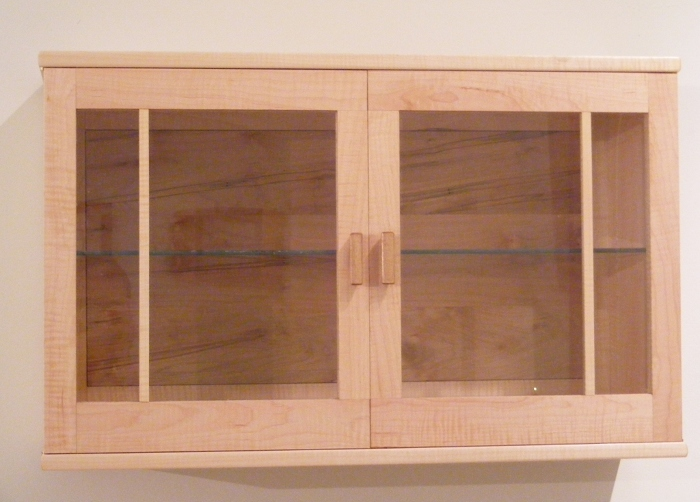 I Have Always Wanted To Build A Krenov Cabinet And The Chance Came To Build  A New Display Cabinet. It Is Made Of Curly Maple Which Was Tricky To Work  With.