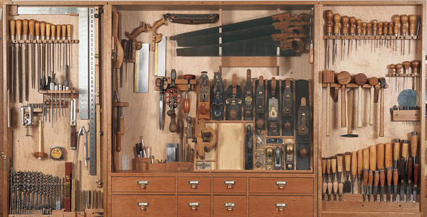Shaker-Style Tool Cabinet