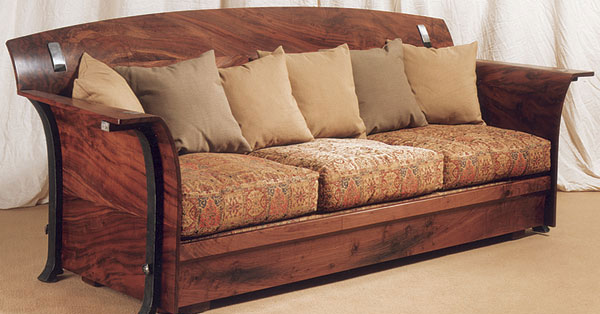 Arts And Crafts Style Sofa Finewoodworking